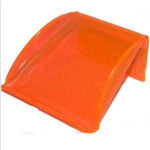 Portable Handmade Mobile Phone Orange Stand Holder